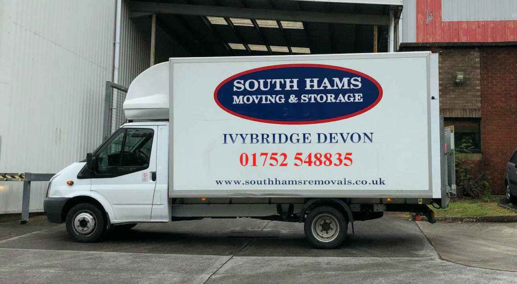south hams van with 01752 548835 tracking number v2